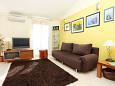Obývacia izba - Apartmán A-1068-b - Ubytovanie Rastići (Čiovo) - 1068