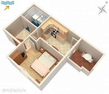 Apartman A-2915-b - Apartmanok Postira (Brač) - 2915