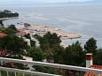 Balkon - Ausblick - Ferienwohnung A-300-b - Ferienwohnungen Baška Voda (Makarska) - 300