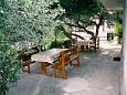 Terrasse - Ferienwohnung A-300-b - Ferienwohnungen Baška Voda (Makarska) - 300