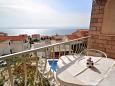 Balkon 1 - pohled - Apartmn A-4632-b - Ubytovn Due (Omi) - 4632