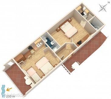 Apartmán A-4632-d - Ubytování Duće (Omiš) - 4632