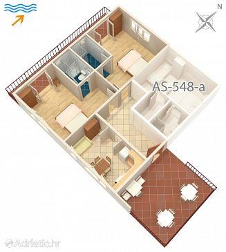 Appartement A-584-a - Appartements et chambres Jelsa (Hvar) - 584