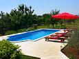Dvorišče - Počitniška hiša Orihi (Središnja Istra) - 7492