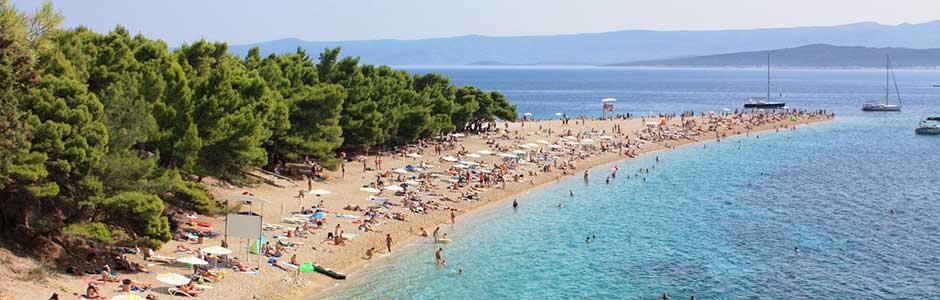 Riviéra Brač Horvátország
