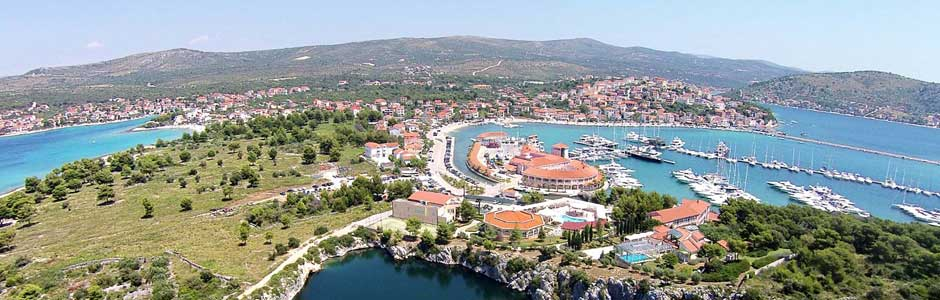 Riviera Rogoznica Croatie
