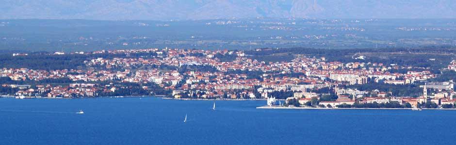 Riviéra Zadar Chorvátsko