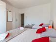 Bedroom 1 - Apartment A-1001-c - Apartments Pisak (Omiš) - 1001