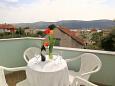 Terrace - Apartment A-10010-b - Apartments Poljica (Trogir) - 10010