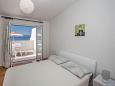Bedroom 1 - Apartment A-10014-d - Apartments Mali Rat (Omiš) - 10014