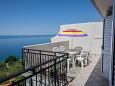 Terrace 1 - Apartment A-10014-d - Apartments Mali Rat (Omiš) - 10014