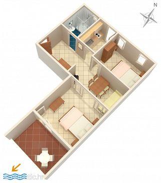 Apartment A-10027-a - Apartments Baška Voda (Makarska) - 10027