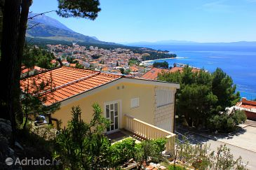 Property Baška Voda (Makarska) - Accommodation 10027 - Apartments with pebble beach.