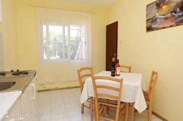 Orebić, Dining room u smještaju tipa apartment, dopusteni kucni ljubimci i WIFI.