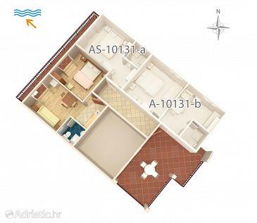 Apartment A-10131-a - Apartments Trpanj (Pelješac) - 10131