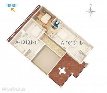 Studio flat AS-10131-a - Apartments Trpanj (Pelješac) - 10131