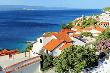 Property Pisak (Omiš) - Accommodation 1014 - Apartments near sea with pebble beach.