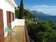 Terrace - Apartment A-1016-b - Apartments Pisak (Omiš) - 1016
