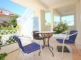 Orebić, Terrace u smještaju tipa studio-apartment, dopusteni kucni ljubimci i WIFI.