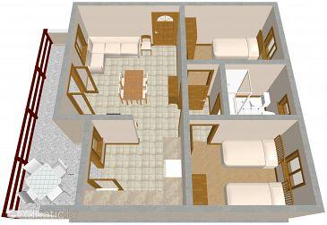 Apartment A-1020-b - Apartments Marušići (Omiš) - 1020
