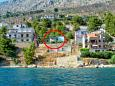 Property Zavode (Omiš) - Accommodation 1021 - Apartments near sea with pebble beach.
