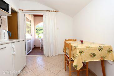 Žuljana, Dining room u smještaju tipa apartment, WIFI.