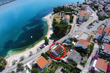 Property Mastrinka (Čiovo) - Accommodation 10261 - Apartments near sea with pebble beach.