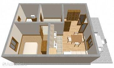 Apartment A-103-b - Apartments and Rooms Vrboska (Hvar) - 103