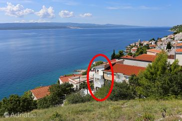 Property Pisak (Omiš) - Accommodation 10323 - Apartments near sea with pebble beach.