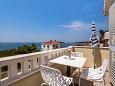 Rogoznica, Balcony u smještaju tipa apartment, s pogledom na more i WIFI.