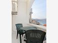 Balcony - Apartment A-10347-b - Apartments Arbanija (Čiovo) - 10347