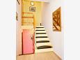 Slatine, Hallway u smještaju tipa apartment, dostupna klima i WIFI.