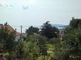 Seget Vranjica, Balcony - view u smještaju tipa apartment, dopusteni kucni ljubimci i WIFI.
