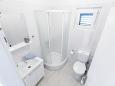 Seget Vranjica, Bathroom u smještaju tipa apartment, dopusteni kucni ljubimci i WIFI.