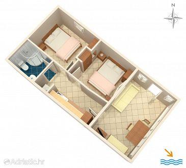 Apartment A-10372-a - Apartments Seget Donji (Trogir) - 10372
