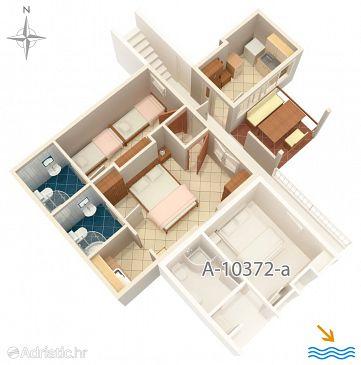 Apartment A-10372-b - Apartments Seget Donji (Trogir) - 10372