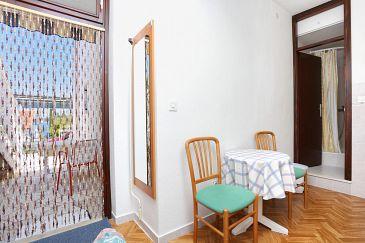 Ražanj, Dining room u smještaju tipa studio-apartment, WIFI.