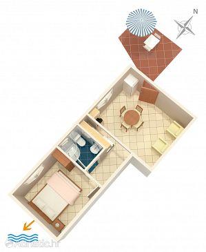 Apartment A-1038-c - Apartments Seget Vranjica (Trogir) - 1038