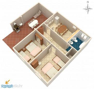 Apartment A-1048-a - Apartments Zavode (Omiš) - 1048
