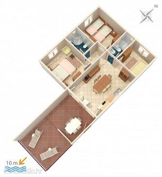 Apartment A-1051-b - Apartments Seget Vranjica (Trogir) - 1051