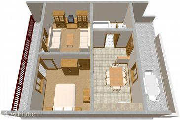 Apartment A-1062-a - Apartments Marina (Trogir) - 1062