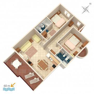 Apartament A-1068-b - Apartamenty Rastići (Čiovo) - 1068