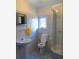 Arbanija, Bathroom u smještaju tipa apartment, WIFI.