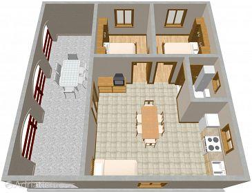 Apartment A-1086-a - Apartments Rogoznica (Rogoznica) - 1086