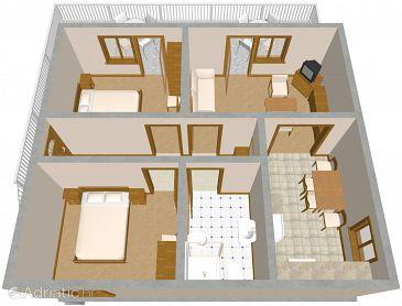Apartment A-1089-a - Apartments Rogoznica (Rogoznica) - 1089