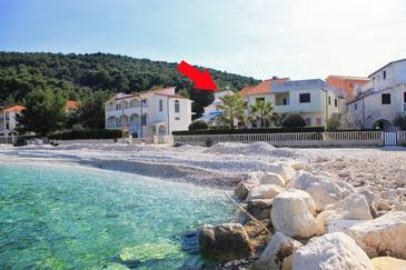 Obiekt Slatine (Čiovo) - Zakwaterowanie 1098 - Apartamenty blisko morza ze żwirową plażą.