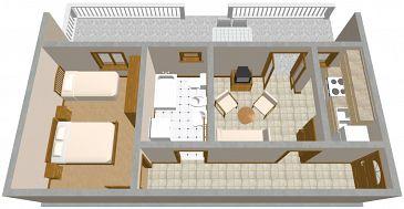 Apartment A-1099-a - Apartments Slatine (Čiovo) - 1099