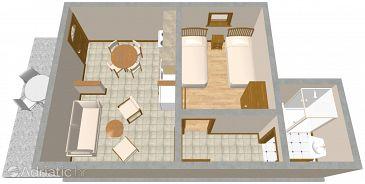 Apartment A-1099-b - Apartments Slatine (Čiovo) - 1099