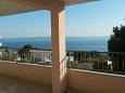 Terrace - view - Apartment A-11007-b - Apartments Veliko Brdo (Makarska) - 11007