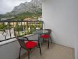Balcony - Studio flat AS-11007-a - Apartments Veliko Brdo (Makarska) - 11007
